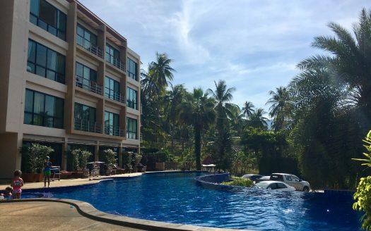 Апартаменты на Маенаме с бассейном и спортивным залом на Самуи