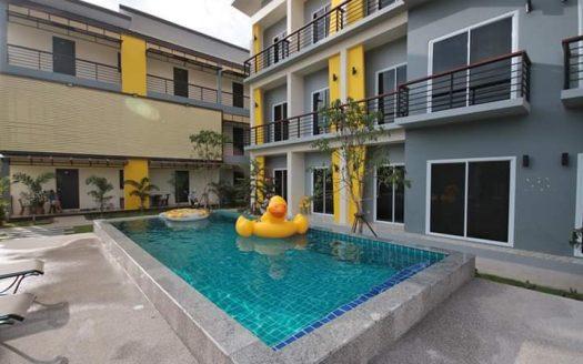 Апартаменты с бассейном в центре Чавенга в аренду на Самуи
