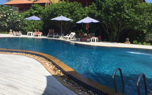 Apartment 2 bedrooms in the resort for rent on Samui