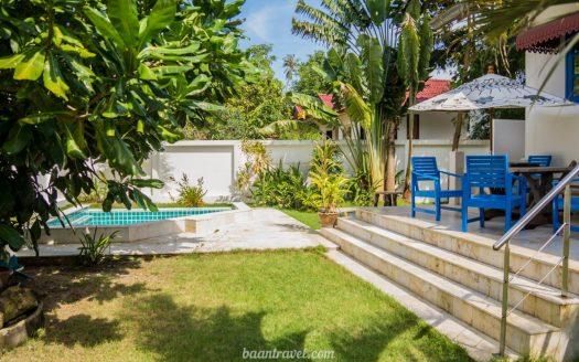 Вилла с 2 спальнями, бассейном и огороженной территорией на острове Самуи
