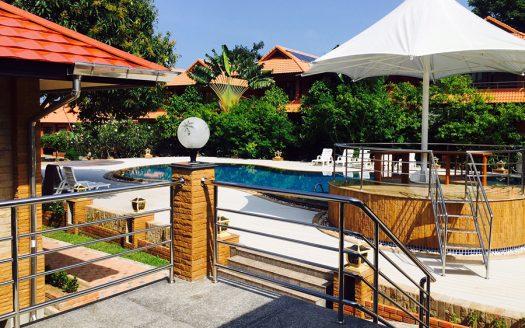 Дом 1 спальня в резорте с бассейном в аренду на пляже Чонг Мон острова Самуи