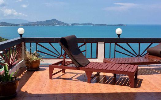 Апартаменты с красивым видом на Чавенг Нои Корал Ков Самуи