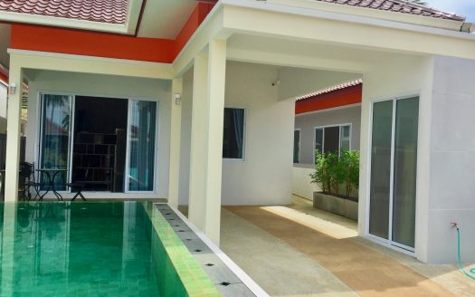 Светлый дом с бассейном в аренду на острове Самуи