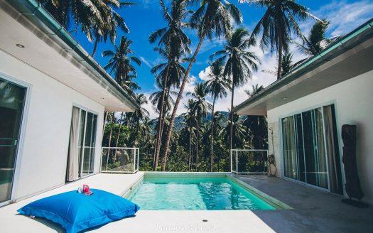 Magnificent 3 villa with bedrooms in Lamai Samui jungle