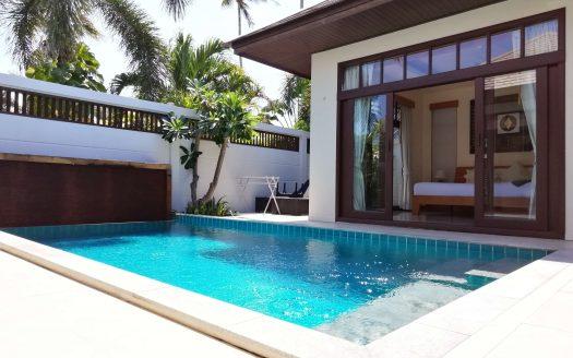 Вилла люкс класса с 2 спальнями на Самуи с бассейном