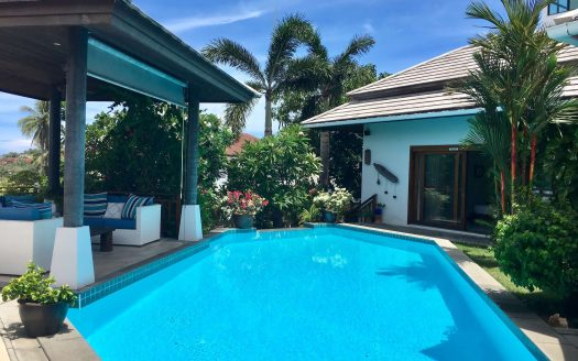 Villa with 3 bedrooms near Chong Mon beach for rent in Samui