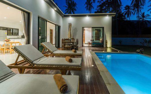 Вилла с 3 спальнями в джунглях Ламаи в аренду на Самуи