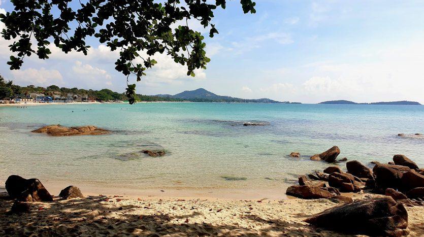 Южная часть пляжа Чавенг