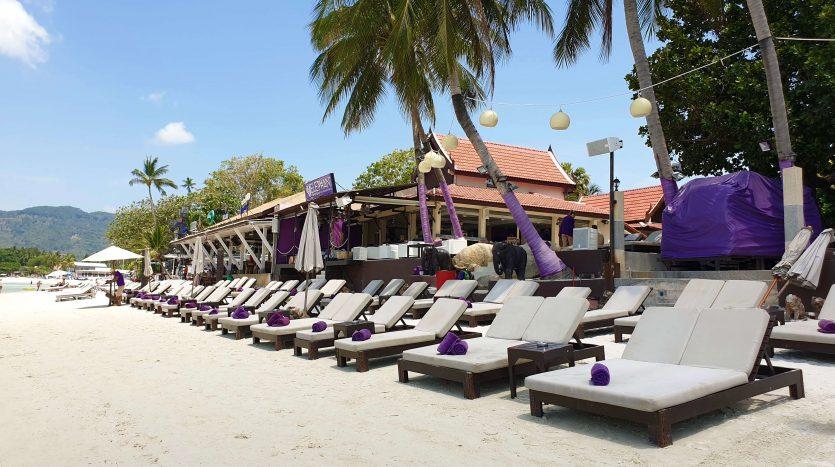 Пляжный клуб рядом с Ark Bar