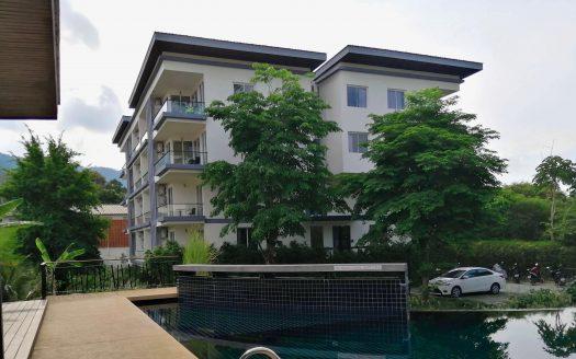 Светлые апартаменты на юге Чавенга в аренду на Самуи