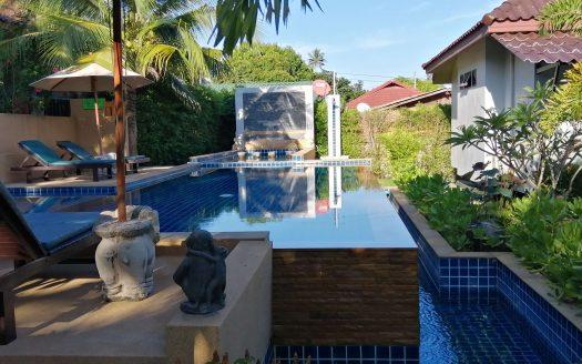 Дом с 1 спальней и бассейном рядом с пляжем Ламаи