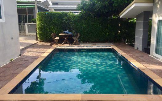 Двухспальный дом на Банраке с бассейном в аренду на Самуи