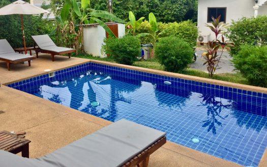 Современные апартаменты с 1 спальней и бассейном в аренду на Самуи