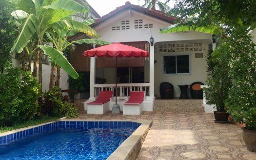 Дом с 2 спальнями, бассейном и двориком с барбекю в аренду на Самуи