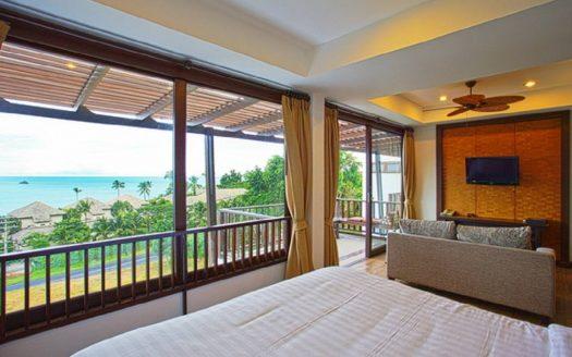 Апартаменты с видом на море в аренду в районе Чавенг
