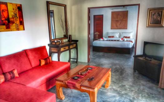 Дом 1 спальня с бассейном на Маенаме