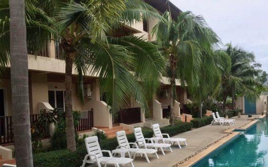 Апартаменты с 1 спальней в районе пляжа Чавенг купить на Самуи