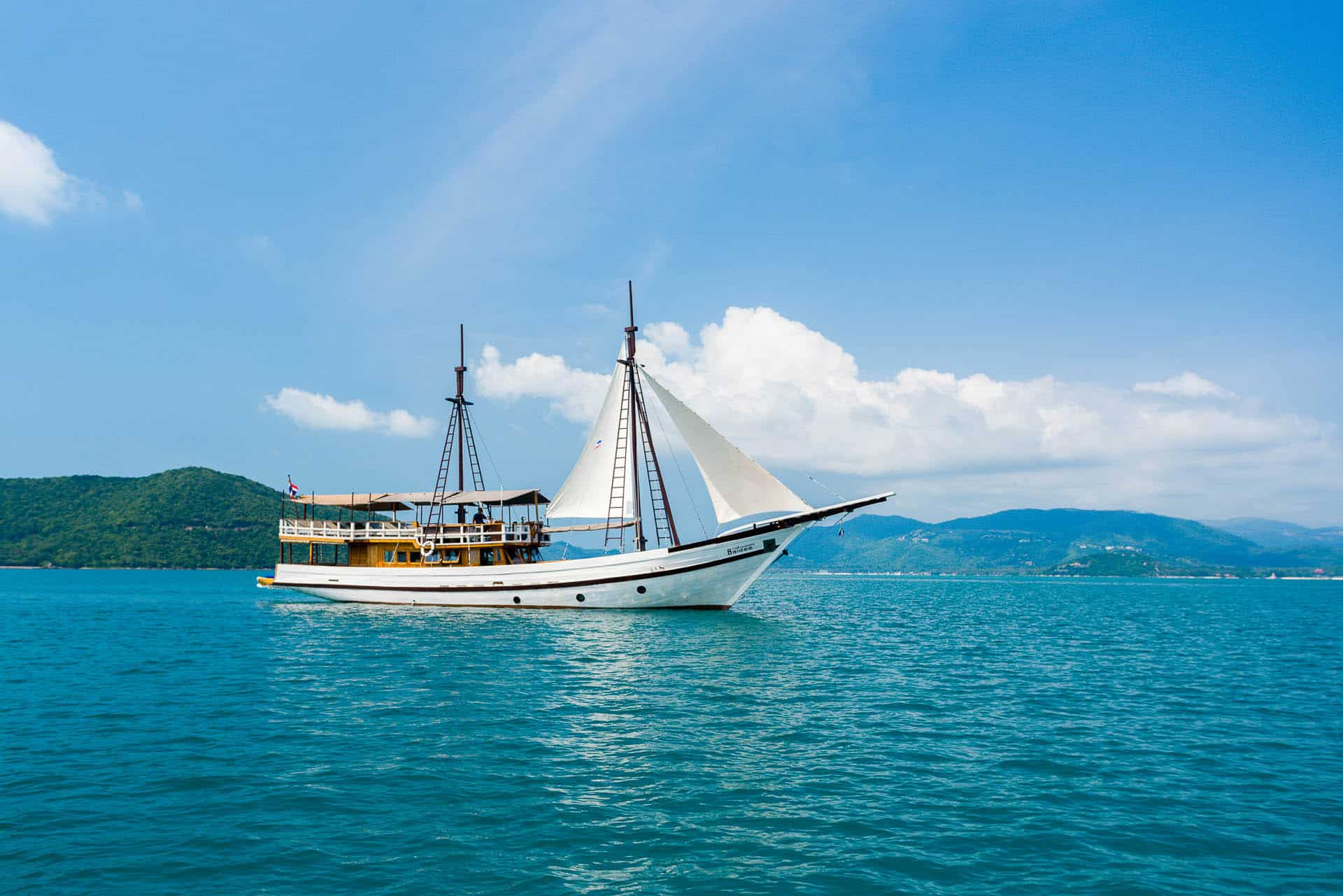 Морской Национальный Парк на корабле NAGA