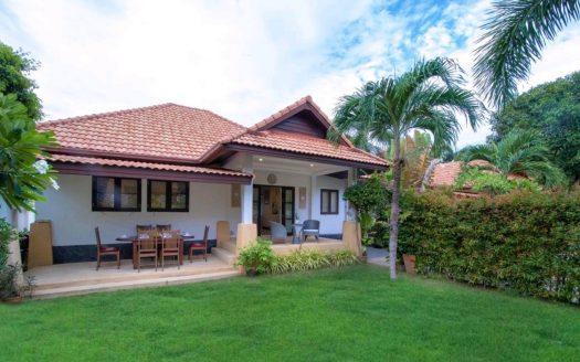 Дом с 2 спальнями и кабинетом рядом с пляжем Банг По в аренду на Самуи