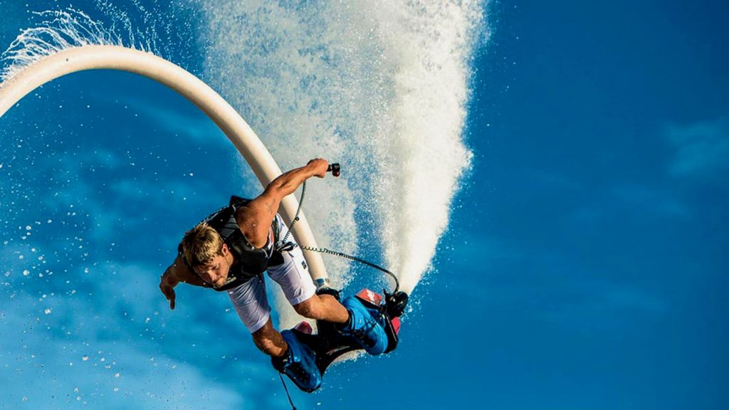 Водные развлечения на Самуи летающая доска