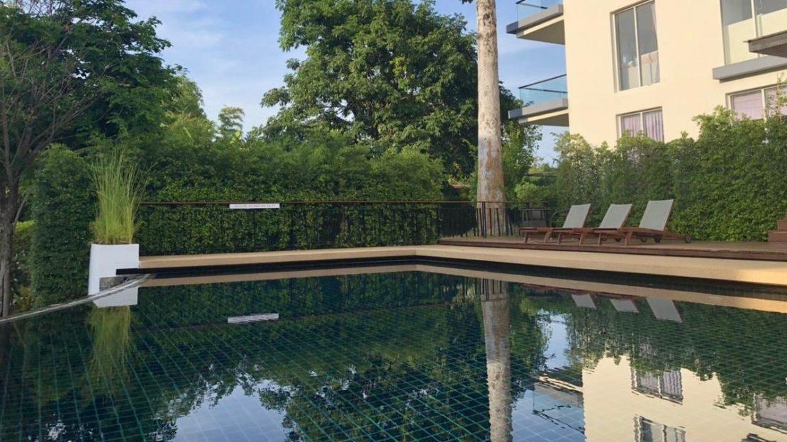Апартаменты с 1 спальней рядом с пляжем Чавенг Ной в аренду на Самуи