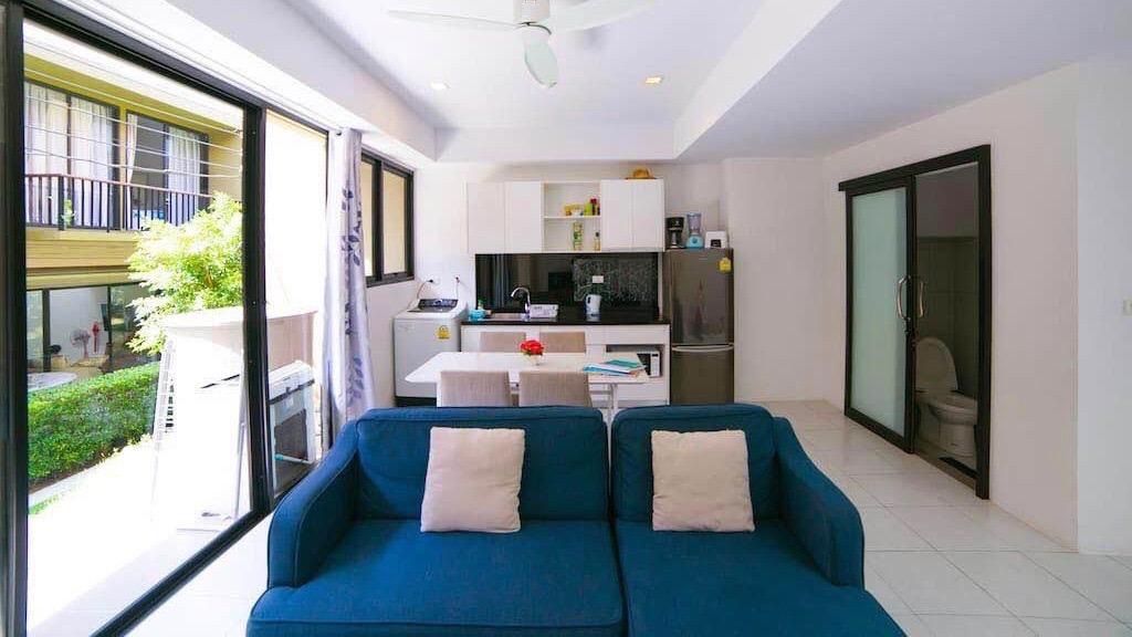 Таунхаус с 3 спальнями рядом с пляжем Банг Рак в аренду на Самуи