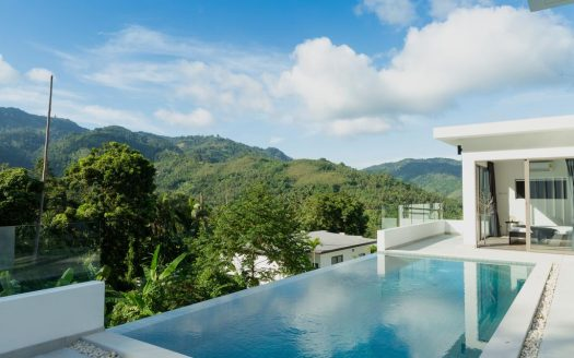 Вилла 3 спальни с бассейном на Ламаи