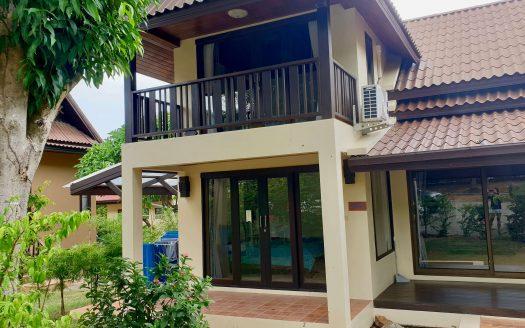 Дом с 4 спальнями в охраняемом поселке в районе Плай Лаем в аренду на Самуи