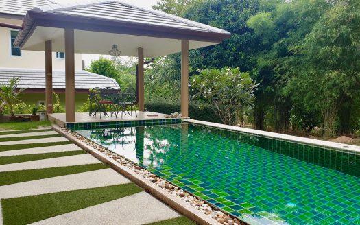 Дом с 4 спальнями и бассейном в районе Чонг Мон в аренду на Самуи