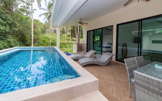 2 bedroom villa in Chaweng Noi for rent in Samui