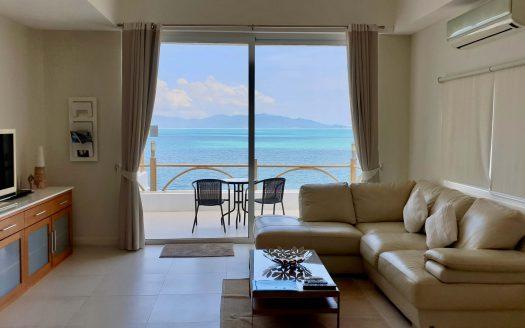 Апартаменты на берегу моря в районе Бан Рак в аренду на Самуи