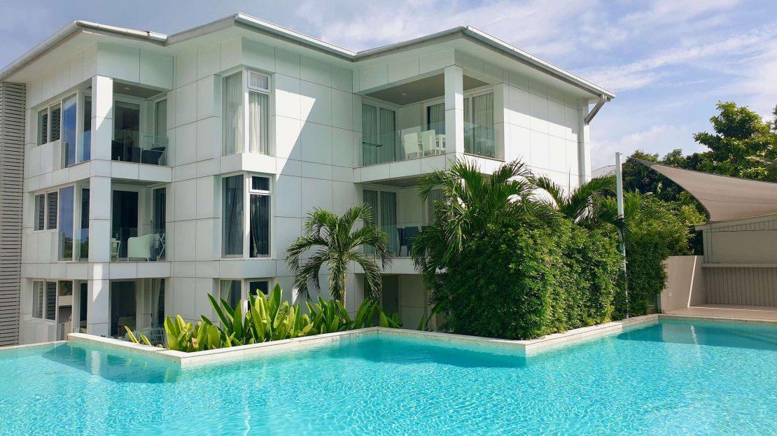 Современные апартаменты с 1 спальней на пляже Чонг Мон в аренду на Самуи