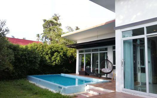 Вилла 2 спальни в районе Бан Тай в аренду на Самуи