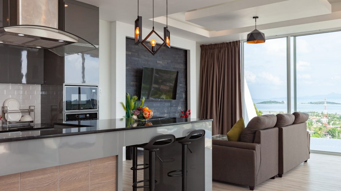 3 bedroom villa with beautiful views for rent in Samui