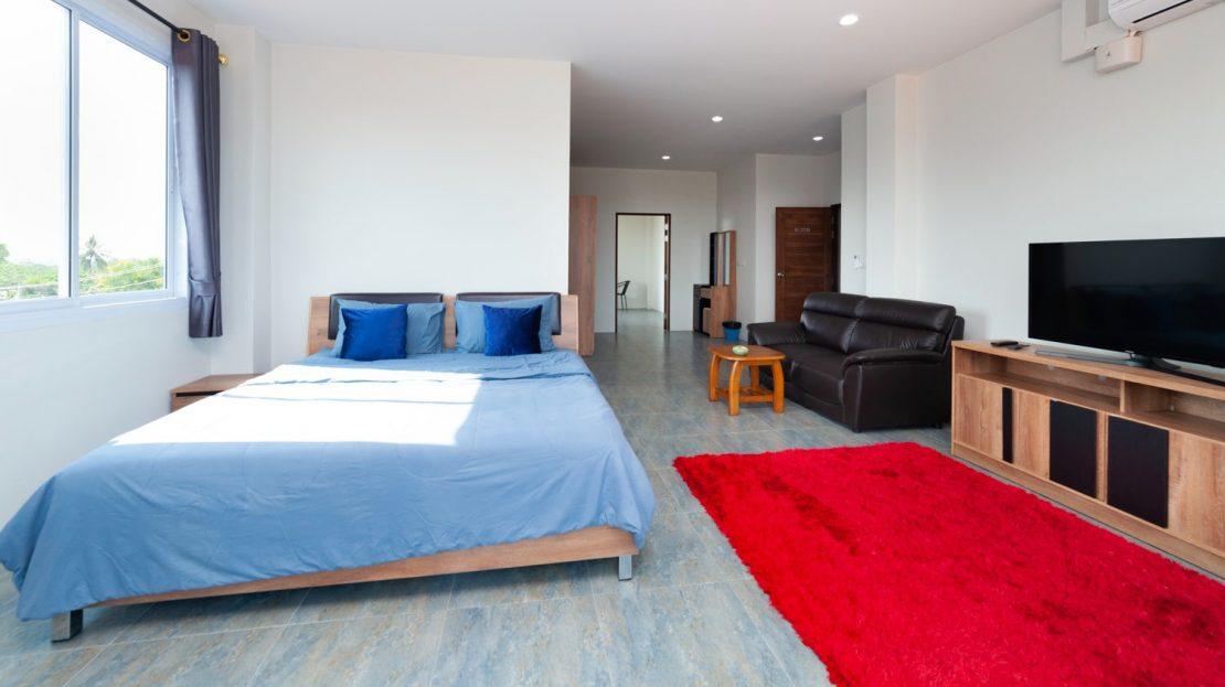 Апартаменты с 1 спальней в районе Чавенг в аренду на Самуи