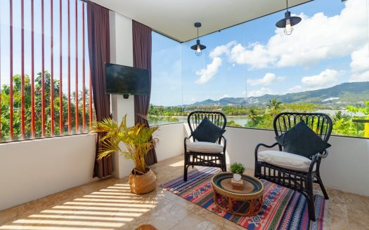 1 bedroom apartment with stunning views in Chaweng area for rent in Samui