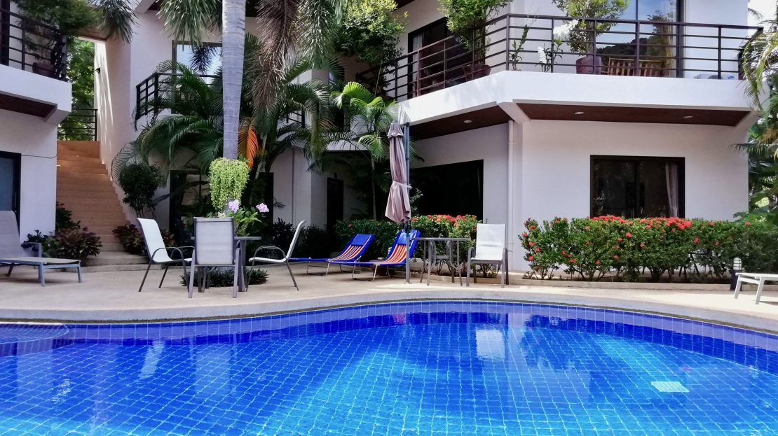 Апартаменты с 1 спальней в пешей доступности от пляжа Чавенг Ной в аренду на Самуи