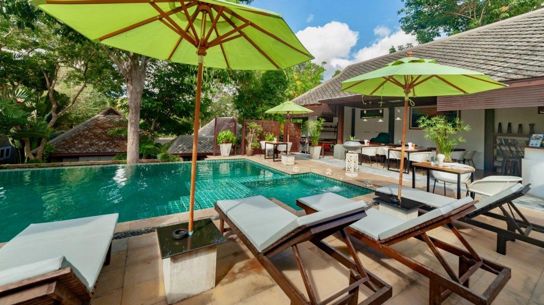 Апартаменты с 1 спальней и прекрасным видом в районе Чавенг в аренду на Самуи