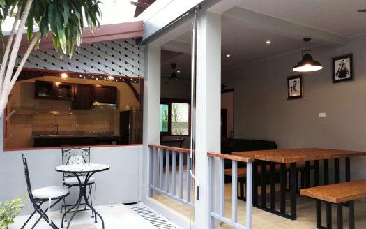 Дом с 2 спальнями и открытой кухней в районе Чонг Мон в аренду на Самуи