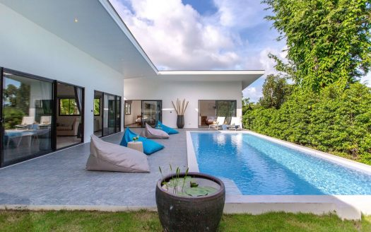 3 bedroom villa near Chaweng Noi beach for rent in Samui
