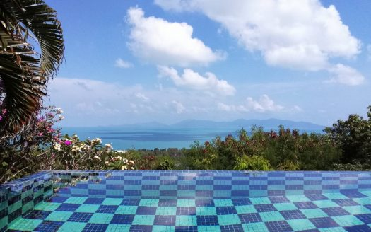 Villa with view for sale on Koh Samui