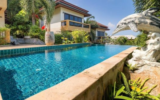 Two-bedroom villa in Chaweng Noi beach area for rent in Samui