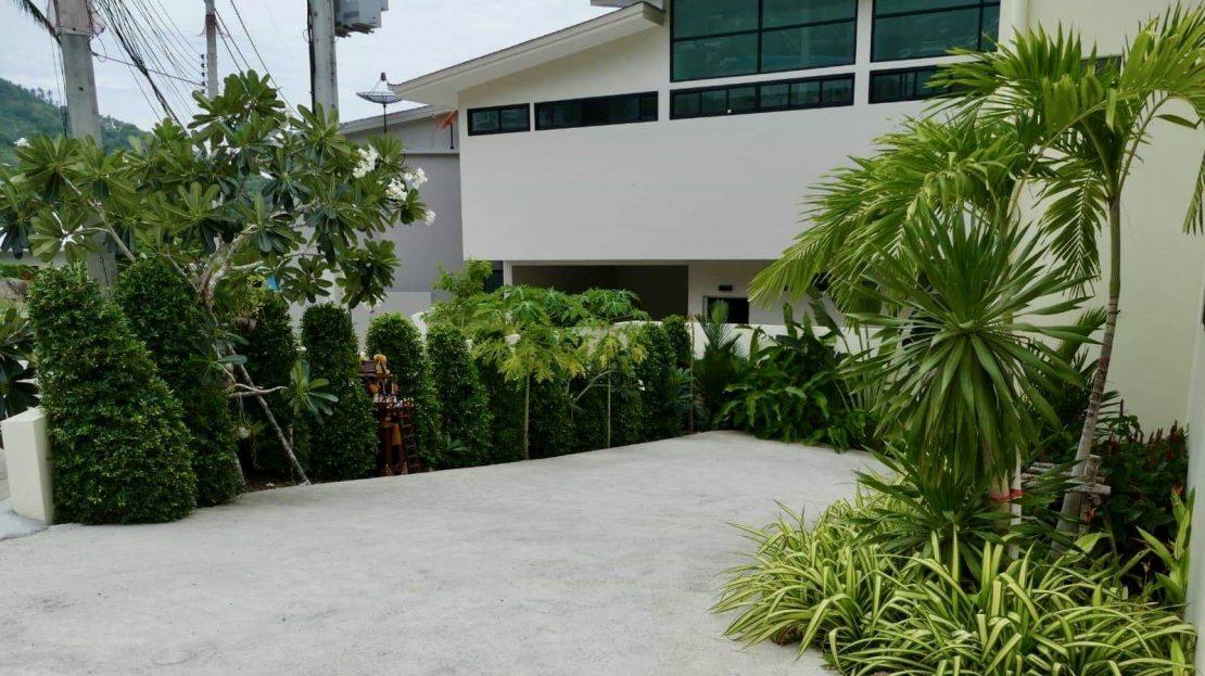 Дом с 3 спальнями и бассейном в районе Чавенг Ной в аренду на Самуи