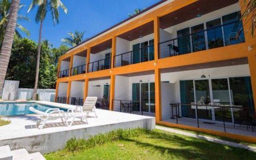 Дом рядом с пляжем Бан Тай в аренду на Самуи