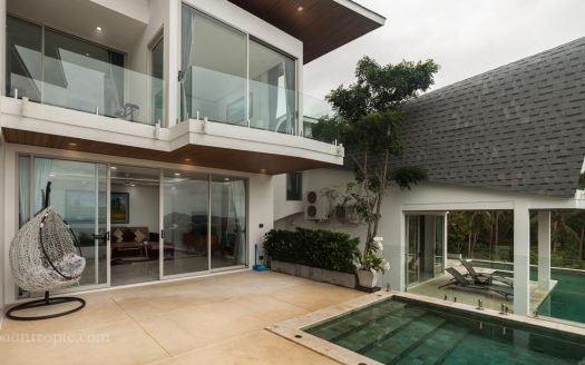 3 bedroom villa in Chaweng Noi for rent in Samui