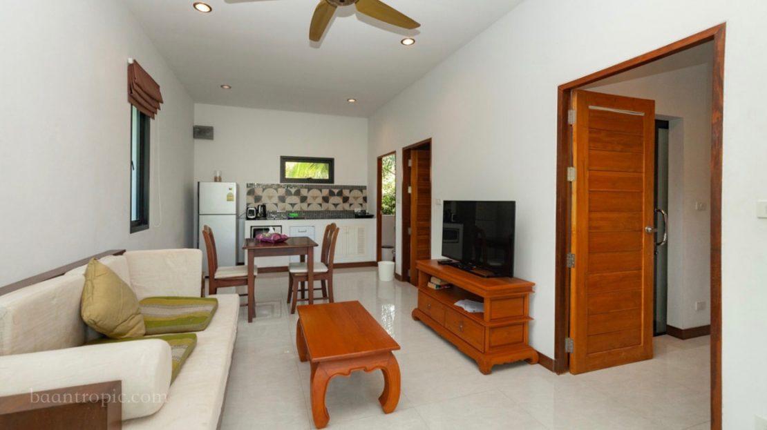 Дом рядом с пляжем Ламаи в аренду на Самуи