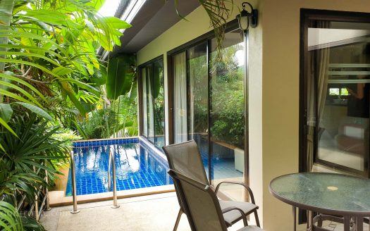 Cozy two bedroom villa in Chaweng for rent in Samui