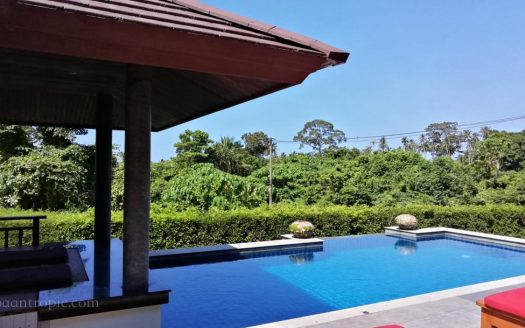 Villa with a view for rent on Koh Samui