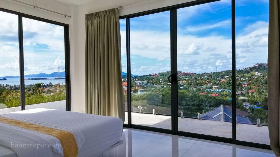 Вилла 3 спальни в районе Банграк в аренду на Самуи