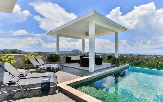 4 bedroom villa in Bophut for rent in Samui